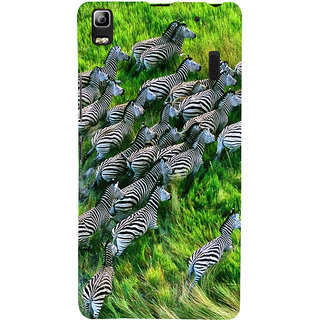ifasho Zebra with S3Dipes Back Case Cover for Lenovo A7000