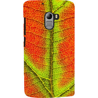 ifasho Leaf Back Case Cover for Lenovo K4 Note