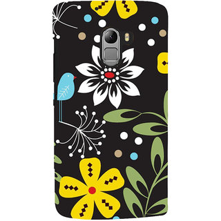 ifasho Animated Pattern birds and flowers Back Case Cover for Lenovo K4 Note