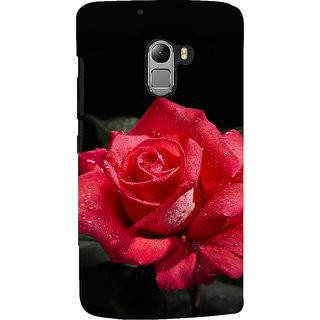 ifasho Red Rose Back Case Cover for Lenovo K4 Note