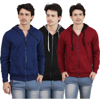 SWEAT SHIRT FOR MEN BY X-CROSS (Pack Of 3)