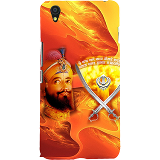ifasho Sikh Guru Gobind singh Back Case Cover for One Plus X