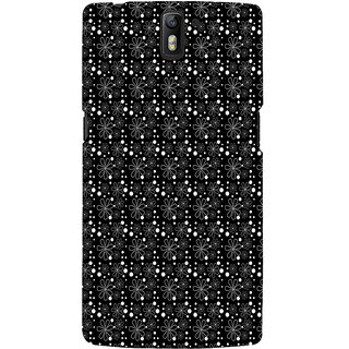 ifasho Animated Pattern Littel Flowers Back Case Cover for One Plus One