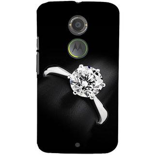 ifasho Engagement Ring Back Case Cover for Motorola MOTO X2