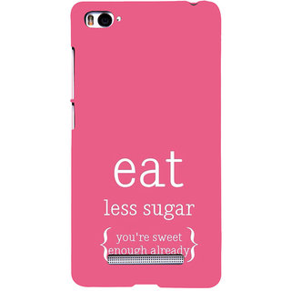 ifasho Motivational Quote sweet Back Case Cover for Redmi Mi4i