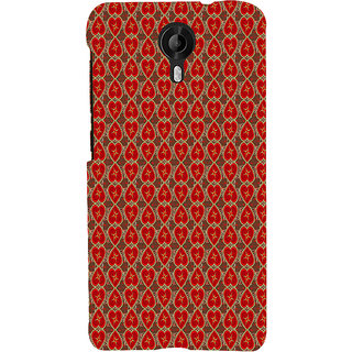 ifasho Modern Art Design Pattern with Lot Of small heart Back Case Cover for Micromax CanvasNitro3E455