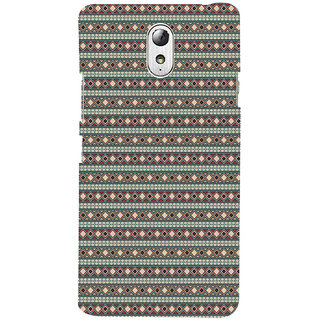 ifasho Animated Pattern colrful 3Dibal design rajasthani style Back Case Cover for Lenovo Vibe P1M