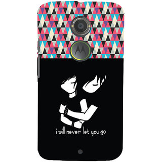 ifasho Love Quotes for love Back Case Cover for Motorola MOTO X2