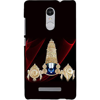 ifasho Lord Balaji Back Case Cover for REDMI Note 3