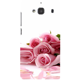 ifasho Red Rose bunch Back Case Cover for Redmi 2S