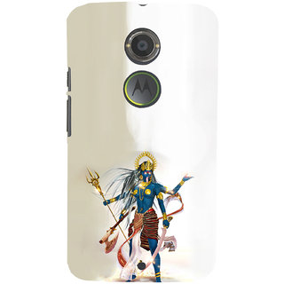 ifasho goddess  maa Kali Ugra tara Back Case Cover for Moto E2