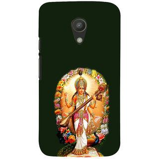 ifasho Goddess Saraswati  Back Case Cover for Moto G2