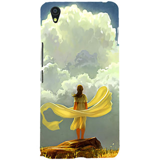 ifasho Girl waiting art work painting Back Case Cover for One Plus X