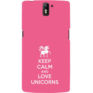 ifasho Nice Quote On Keep Calm Back Case Cover for One Plus One