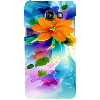 ifasho Flower Design multi color Back Case Cover for Samsung Galaxy A5 A510 (2016 Edition)