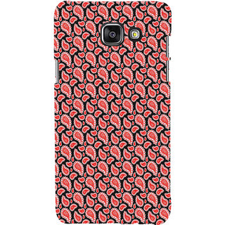 ifasho Modern Art Design animated cloth Pattern of flower Back Case Cover for Samsung Galaxy A5 A510 (2016 Edition)