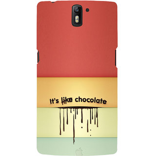 ifasho Passinate Love Quote Back Case Cover for One Plus One