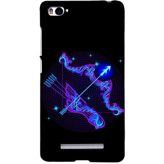 ifasho zodiac sign Sagitarius Back Case Cover for Redmi Mi4i