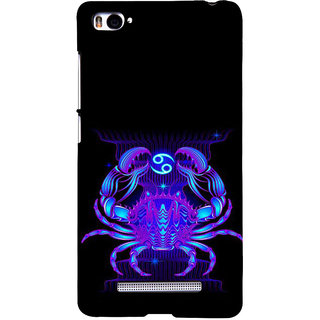 ifasho zodiac sign cancer Back Case Cover for Redmi Mi4i