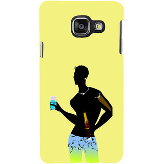 ifasho Designer boy Back Case Cover for Samsung Galaxy A3 A310 (2016 Edition)