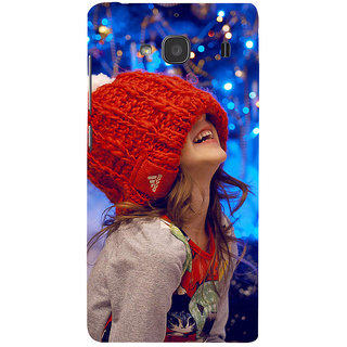 ifasho Little girl laughing Back Case Cover for Redmi 2S