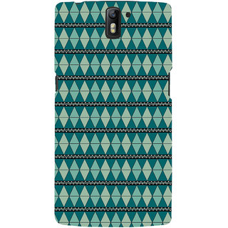 ifasho Animated Pattern colrful 3Dibal design Back Case Cover for One Plus One