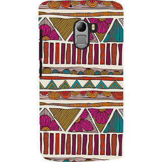 ifasho Animated Pattern colrful 3Dibal design Back Case Cover for Lenovo K4 Note
