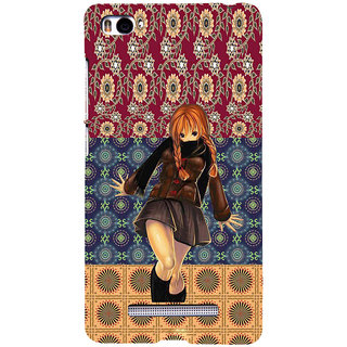 ifasho Dancing girl Back Case Cover for Redmi Mi4i
