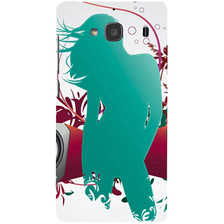 ifasho Girl dancing with music box Back Case Cover for Redmi 2S
