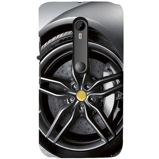 ifasho Love Car Back Case Cover for Moto G3
