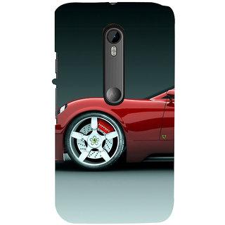 ifasho Stylish long Car Back Case Cover for Moto G3