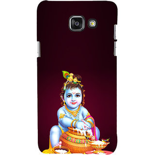 ifasho Lord Krishna stealing curd Back Case Cover for Samsung Galaxy A5 A510 (2016 Edition)