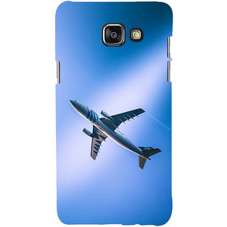 ifasho aeroPlane flying in blue sky Back Case Cover for Samsung Galaxy A7 A710 (2016 Edition)