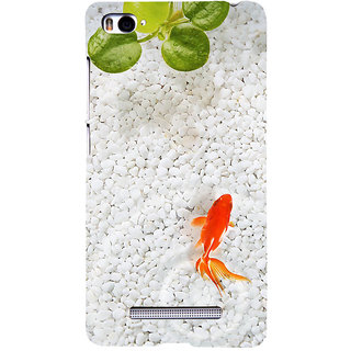 ifasho Fish in water with stone acquarium Back Case Cover for Redmi Mi4i