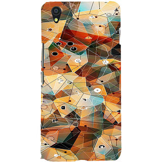 ifasho Modern Theme of royal design in colorful pattern Back Case Cover for One Plus X