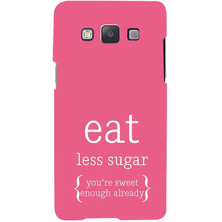 ifasho Motivational Quote sweet Back Case Cover for Samsung Galaxy A7