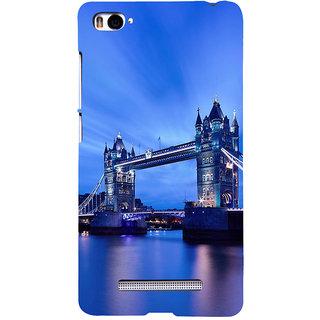 ifasho London Bridge Back Case Cover for Redmi Mi4i