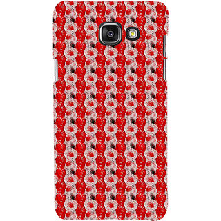 ifasho Animated  Feather Back Case Cover for Samsung Galaxy A7 A710 (2016 Edition)