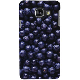 ifasho grapes pattern Back Case Cover for Samsung Galaxy A3 A310 (2016 Edition)