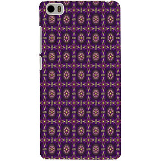 ifasho Animated Pattern design colorful flower in royal style Back Case Cover for Redmi Mi5