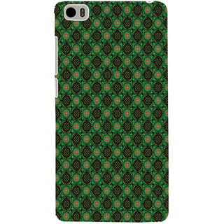 ifasho Pattern green red and black flower design Back Case Cover for Redmi Mi5