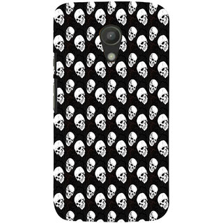 ifasho Modern  Design skeleton Pattern Back Case Cover for Moto G2