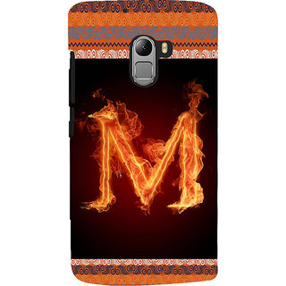 ifasho alphabet name series M Back Case Cover for Lenovo K4 Note