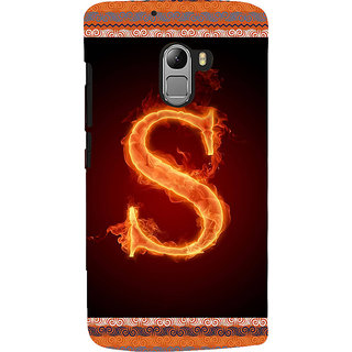 ifasho alphabet name series S Back Case Cover for Lenovo K4 Note