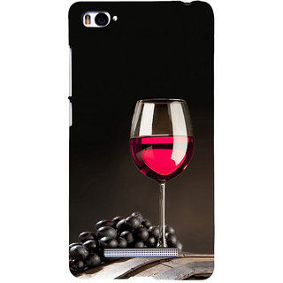 ifasho Wine at Dine Back Case Cover for Redmi Mi4i