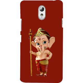ifasho Modern Art Ganesh Back Case Cover for Lenovo Vibe P1M