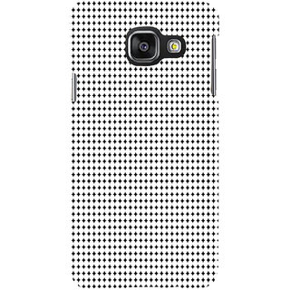ifasho Modern Art Design animated cloth Pattern of small star Back Case Cover for Samsung Galaxy A3 A310 (2016 Edition)
