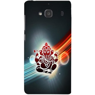 ifasho Modern Art Ganesh Back Case Cover for Redmi 2S