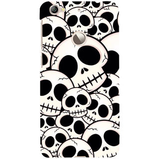 ifasho Modern  Design skeleton Pattern Back Case Cover for LeTV 1S