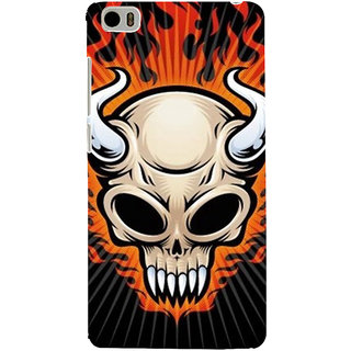 ifasho Modern  Design animated skeleton Back Case Cover for Redmi Mi5